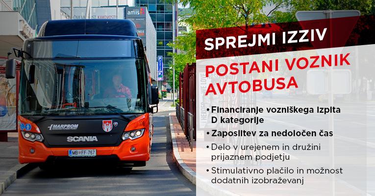 Marprom ZaposlitveniOglas VoznikBus 20121 BannerNovica 765x400