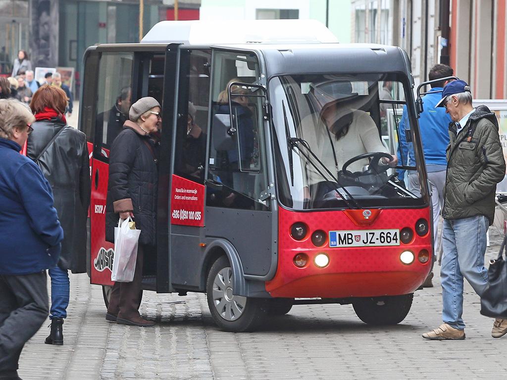 Mestno mini vozilo Maister